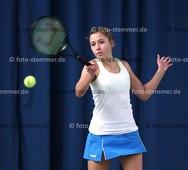 Foto: Michael Stemmer | © Michael Stemmer Tennis, Landesliga Frauen Datum: 16.1.2016 Alina- Marie Bergfeld  (TV Uetersen)