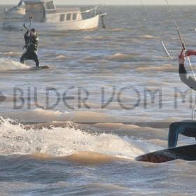 Kite Bilder vom Meer aus Spanien | Kitesurfing hart am Wind