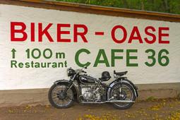 Biker-Oase_Schrift_am_Kiosk
