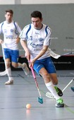 Foto: Michael Stemmer | © Michael Stemmer Floorball, Aufstiegsspiel zur 1. Bundesliga Datum: 22.4.2017 Blau-Weiß 96 Schenefeld– SC DHfK Leipzig Daniel Czapelka  (BW 96)