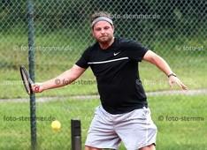 Foto: Michael Stemmer | © Michael Stemmer Tennis, 1. Amato-Caffè-Open des Pinneberger TC  Datum: 22.7.2017 Alexander Seeger (TC Wedel)