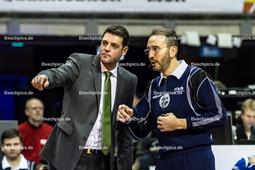 2016_027_OlympiaQualiFrankreich-Bulgarien | KONSTANTINOV Plamen (head coach Bulgarien) mit 2. Schiedsrichter