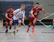 Foto: Michael Stemmer | © Michael Stemmer Floorball, Pokal, 4. Runde , Männer Datum: 10.12.2017 Blau-Weiß 96 Schenefeld – UHC Sparkasse Weißenfels  Felix Irrgang   (BW 96)