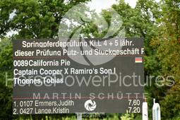 Asperden-Kessel - Prüfung  40-1551