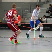 Foto: Michael Stemmer | © Michael Stemmer Floorball, Pokal, 4. Runde , Männer Datum: 10.12.2017 Blau-Weiß 96 Schenefeld – UHC Sparkasse Weißenfels  Sascha Czapelka   (BW 96)