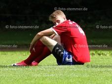 Foto: Michael Stemmer | © Michael Stemmer Fußball, Oberliga- Hamburg, Saison 2017- 2018 Datum: 13.8.2017 Spiel: VFL Pinneberg gegen TSV Sasel enttäuscht: Maximilian Walter  (VFL Pinneberg)