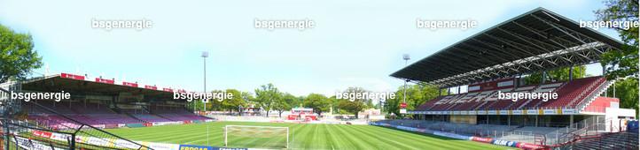 Panorama_sued | Panorama Stadion der Freundschaft Cottbus vor dem Umbau