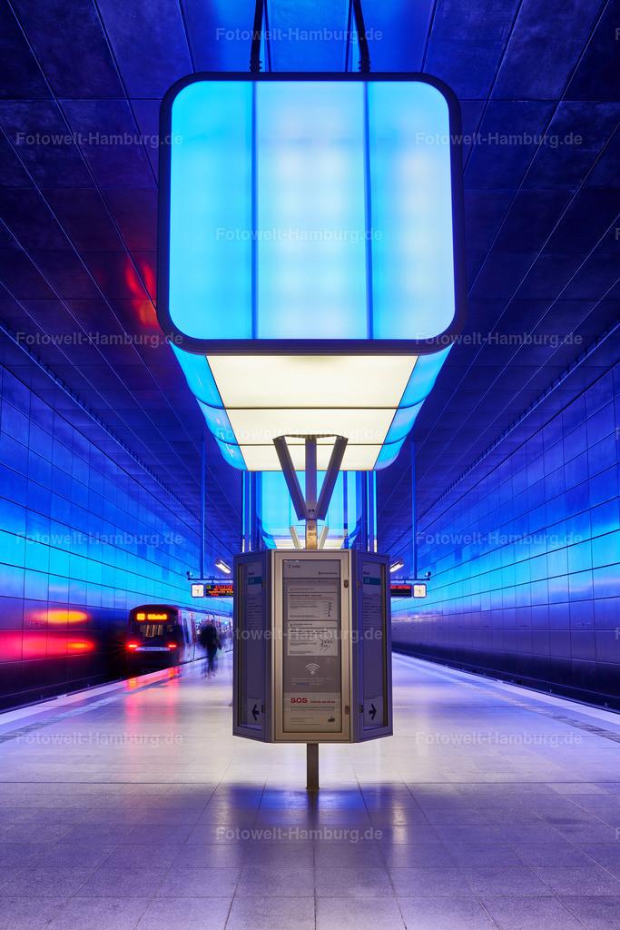 10190808 - U-Bahn Station in der Hafencity