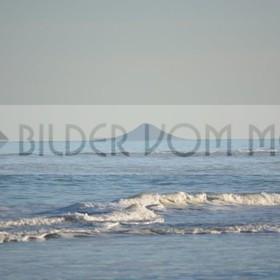 Bilder vom Meer | Gischt auf dem Wasser