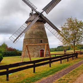 Windmühle Hausberge HDR | Web und Print nur Redaktionell