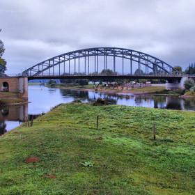 Brücke Rinteln über die Weser