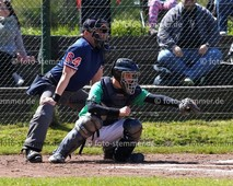 Foto: Michael Stemmer   © Michael Stemmer Baseball, Verbandsliga  Datum: 30.4.2017 Spiel: Elmshorn Alligators – Flensburg Baltics André Lopacinski   (Elmshorn Alligators)