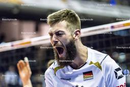 2016_005_OlympiaQualiDeutschland-Serbien | Jubel bei COLLIN Philipp (#20 Deutschland) - Portrait