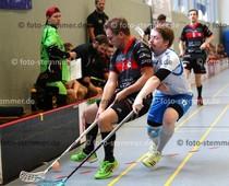 Foto: Michael Stemmer | © Michael Stemmer Floorball Datum: 7.10.2017 BW 96 gegen MFBC Leipzig Lasse Schmidt   (BW 96)
