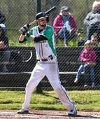 Foto: Michael Stemmer   © Michael Stemmer Baseball, Verbandsliga  Datum: 30.4.2017 Spiel: Elmshorn Alligators – Flensburg Baltics  Christopher Kegel  (Elmshorn Alligators)
