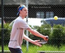 Foto: Michael Stemmer | © Michael Stemmer Tennis-Herren (Oberliga) Datum: 21.5.2016 Clemens Marg  (SV Halstenbek-Rellingen, SVHR)