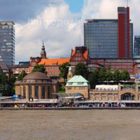 Panorama der Landungsbrücken