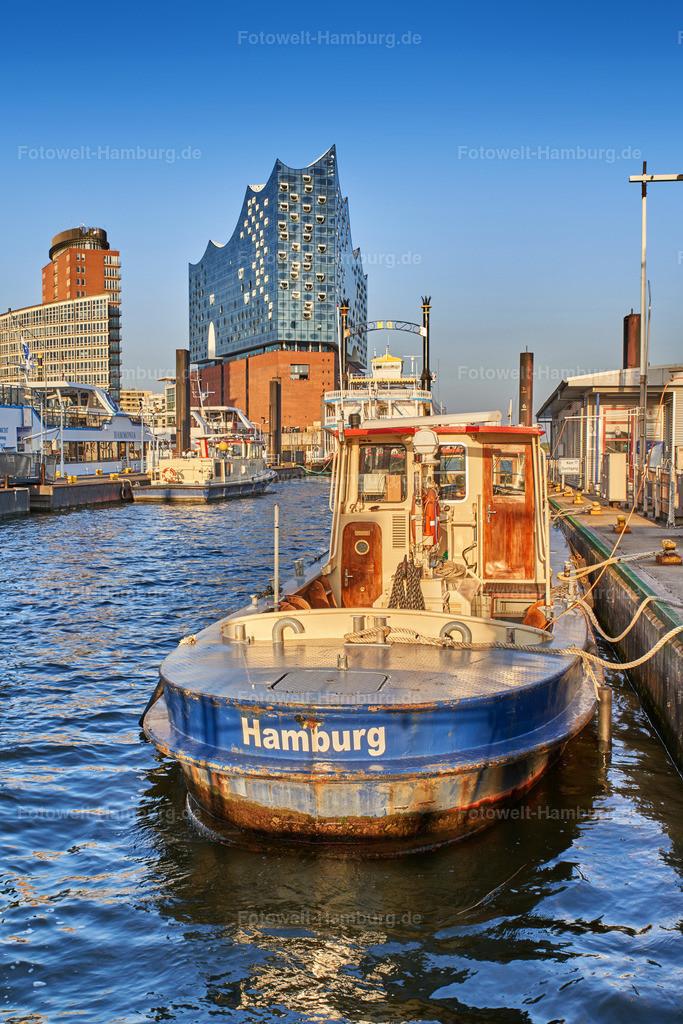 11997300 - Hamburger Hafen und Elbphilharmonie | Hafenatmosphäre
