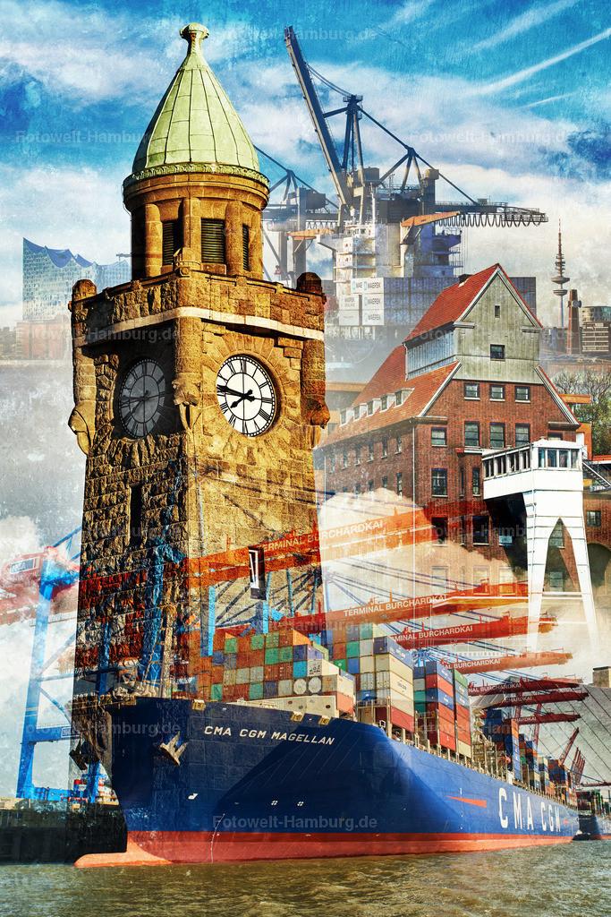 11985764 - Hamburger Hafen Collage