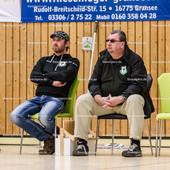 2016_087_BL2M_LindowGransee-Essen | Die Trainer von Lindow-Gransee: v.l.n.r.: Victor Eras (Lindow-Gransee Trainer) und Mirko Heine (Lindow-Gransee Co-Trainer)