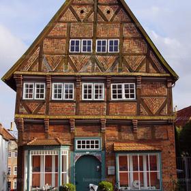 das alte Haus in Mölln am Marktplatz