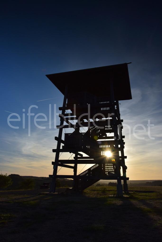 Meerfeld, Aussichtspunkt  | Der Panorama Aussichtsturm am Meerfelder Maat