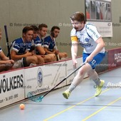 Foto: Michael Stemmer | © Michael Stemmer Datum: 23.9.2017 Floorball (BW 96 gegen Schriersheim) Lasse Schmidt   (BW 96)