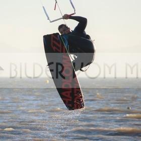 Skitesurfing Bilder vom Meer | Springen und fliegen