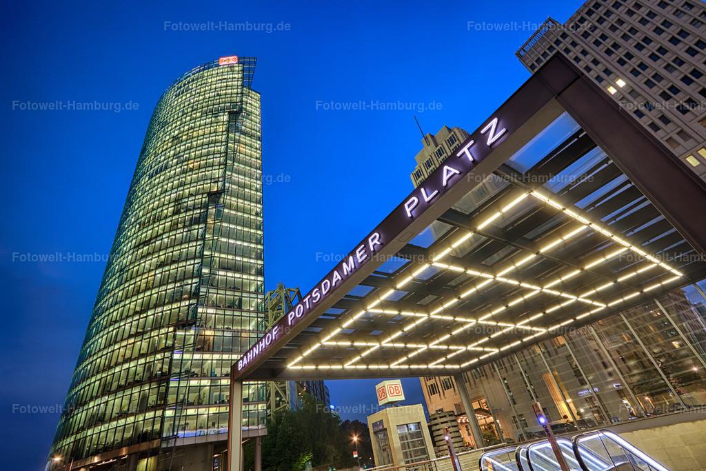 12007503 - Bahnhof Potsdamer Platz bei Nacht