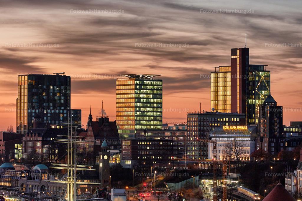 10161101 - Skyline von St. Pauli