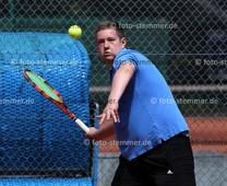 Foto: Michael Stemmer | © Michael Stemmer Tennis, Schleswig-Holstein Verbandsliga Gr. 021, Männer Datum: 17.6.2017 Luca Baumert   (Pinneberger TC ) (PTC)