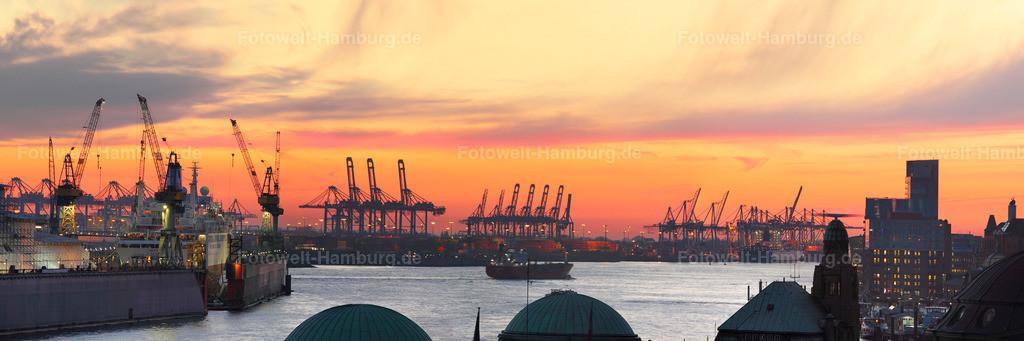 11115509 - Sonnenuntergang an der Elbe