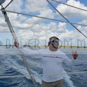 Katamaran steuern leicht gemacht | Kuba Bilder vom Meer