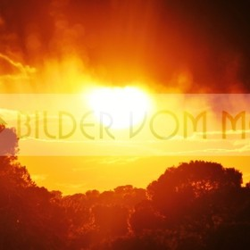 Bilder vom Meer als Wandbild mit Sonnenuntergang | Wandbild Sonnenuntergang: der Vorhang fällt