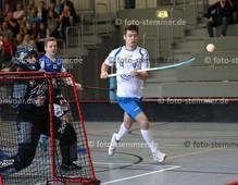 Foto: Michael Stemmer | © Michael Stemmer Datum: 23.9.2017 Floorball (BW 96 gegen Schriersheim) Tim Sonntag   (BW 96)