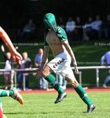 Foto: Michael Stemmer | © Michael Stemmer Fußball, Oberliga- Hamburg, Saison 2017- 2018 Datum: 27.8.2017 Spiel: TSV Wedel gegen TuS Osdorf Jubel nach dem 2:1- Tim Vollmer   (TSV Wedel)