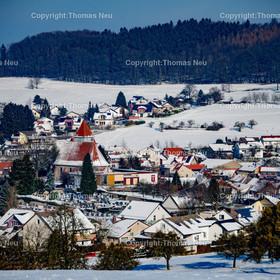 Gadernheim | Lautertal, Gadernheim, Winter, Schnee,, Bild: Thomas Neu