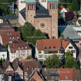 Innenstadt-2 | Bensheim,Innenstadt, Sankt Georg, Haus am markt, ,, Bild: Thomas Neu