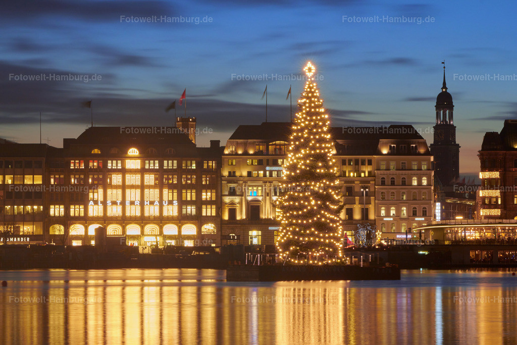 11635791 - Hamburg Weihnachten an der Alster