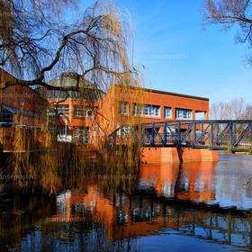 Rathaus Wilhelmsburg Brücke
