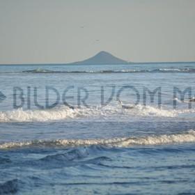 Bilder vom Meer als Wandbild Meer | Wandbild Meer: Bewegte See am Mar Menor