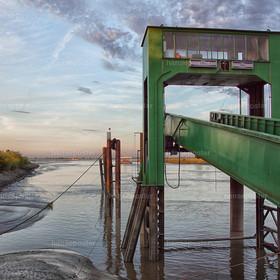 Brücke Elbfähre Wischhafen 2