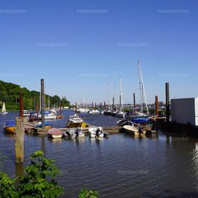 Yachthafen Mühlenberg Blankenese