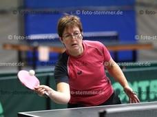 Foto: Michael Stemmer | © Michael Stemmer Tischtennis, Kreismeisterschaften Datum: 5.11.2017 Heidrun Krause (TSV Gut Heil Heist)