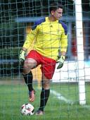 Foto: Michael Stemmer | © Michael Stemmer Fußball Landes- Liga Hammonia Saison 2017_ 2018 Datum: 10.9.2017 Spiel: SVHR gegen BW 96  Torwart Jonathan Hohenegger  (BW96) nach dem 0:2