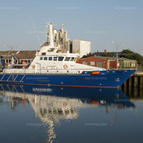 Schiff der Küstenwache Büsum