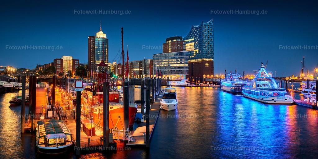 10190313 - Elbphilharmonie bei Nacht | Blick über den Niederhafen auf die Hafencity.