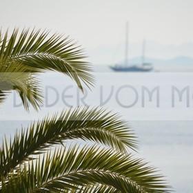 Bilder vom Meer als Wandbild Meer | Wandbild Meer: Segelschiff am Mar Menor