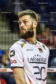2016_004_OlympiaQualiDeutschland-Serbien | COLLIN Philipp (#20 Deutschland) schaut zurück