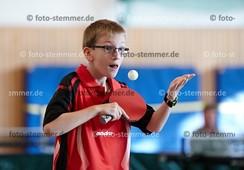Foto: Michael Stemmer | © Michael Stemmer Tischtennis Kreismeisterschaften Schüler A/Jugend   Datum: 15.10.2017 Leon Gehm (TTC Seeth- Ekholt)